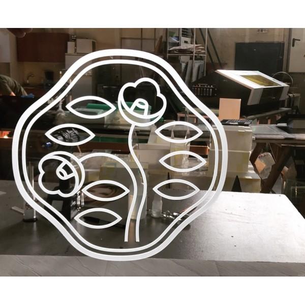 Ειδικες Κατασκευες Plexiglas - Shisheido Logo Ειδικές Κατασκευές