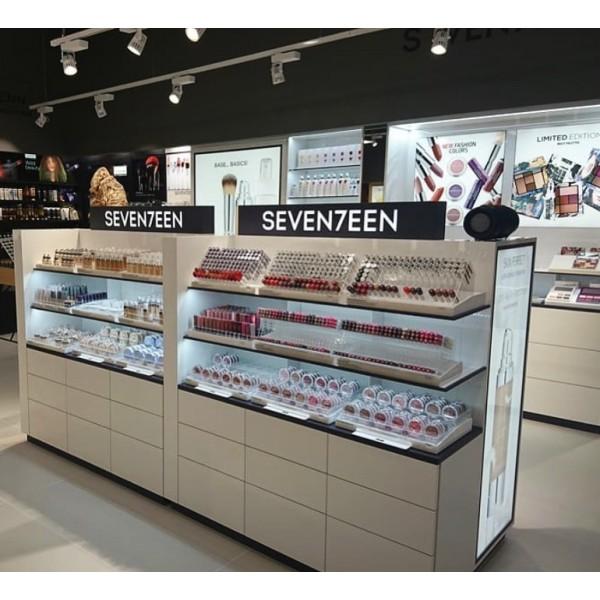 Επιπλα Βιτρινας Plexiglas - Seventeen Cosmetics Makeup Stand  Έπιπλα Βιτρίνες