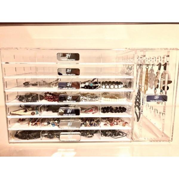 Ειδικες Κατασκευες Plexiglas - Κοσμηματοθήκη Μπιζουτιέρα 2H Helene Heliotou Ειδικές Κατασκευές