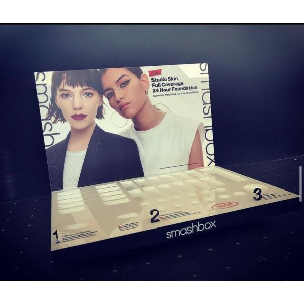 Επιπλα Βιτρινας Plexiglas - Smashbox Foundation Display Έπιπλα Βιτρίνες